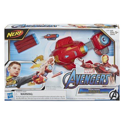 Avengers Gelezinio zmogaus ginklas Nerf