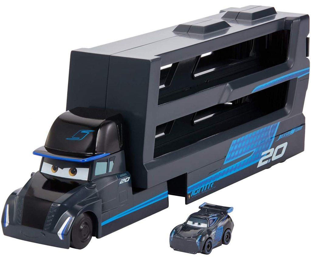 Cars (Ratai) transporteris su Džeksono Audros (angl. Jackson Storm) mašinėle.