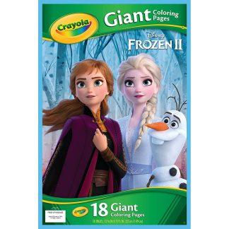 Frozen II Didelė spalvinimo knyga Ledo šalis Crayola