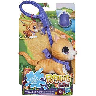 Furreal Mažas interaktyvus gyvūnelis Peealots katytė