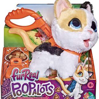 Furreal Poopalots interaktyvus kačiukas su pavadėliu didelis