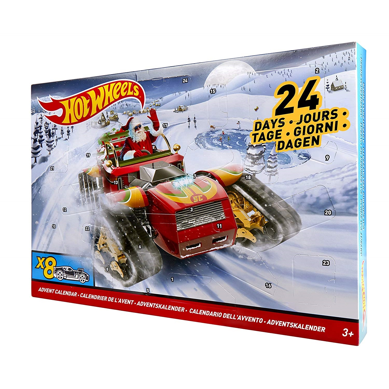 Cars Weihnachtskalender.Hot Wheels Advento Kalendorius