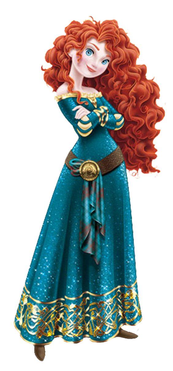 Merida Disnėjaus princesė
