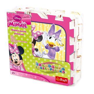 Mickey Mouse Minkštas kilimėlis dėlionė Pelytė Minė