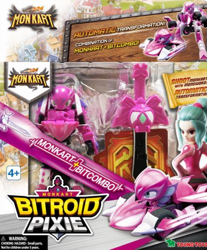 Monkart Bitroidė Pixie Transformers