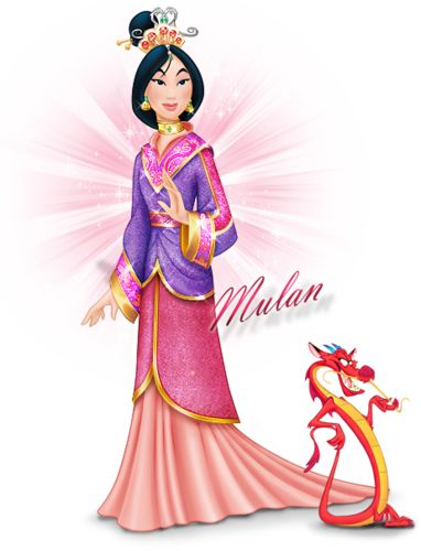 Mulan Disnėjaus princesė