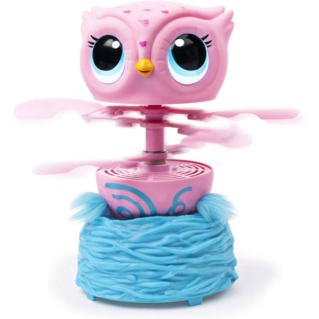 Owleez pelėda interaktyvus žaislas