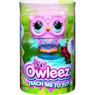 OWLEEZ Interaktyvus žaislas Pelėda rožinė