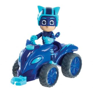 PJ Masks Transporto priemonė su figūrėle Catboy