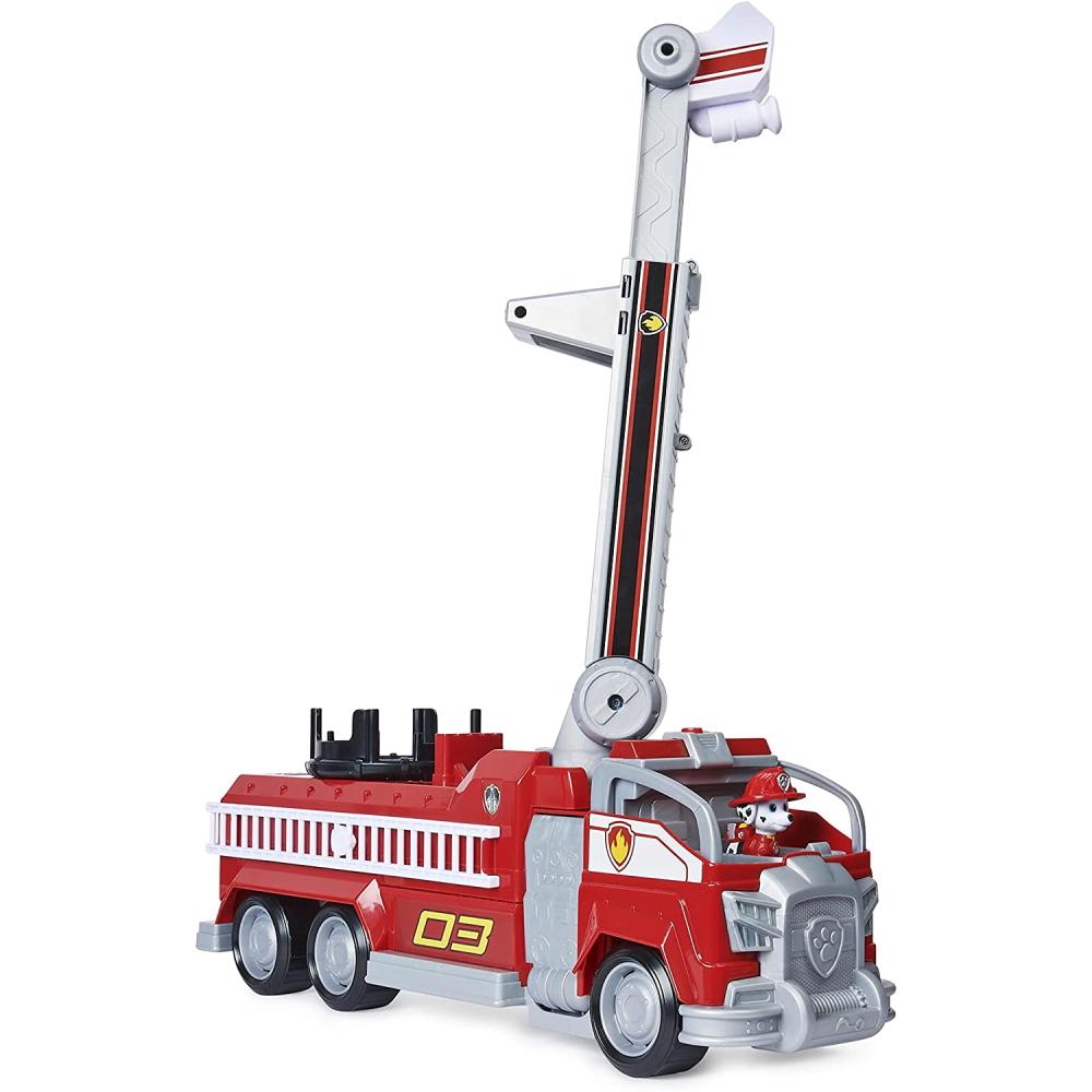 Transformuojama gaisrinė mašina Marshall