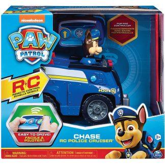 Paw Patrol Radio bangomis valdoma policijos mašina Chase