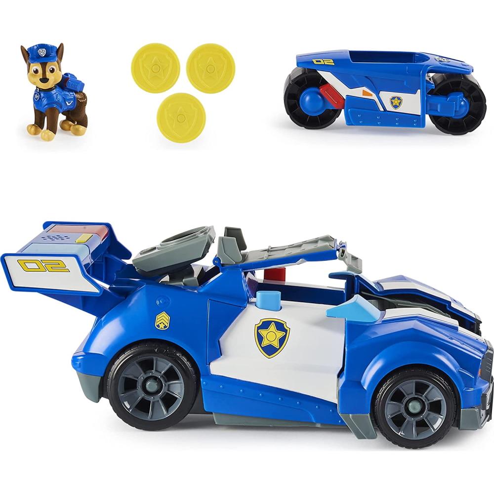 Šunyčiai patruliai Chase transformuojama transporto priemonė
