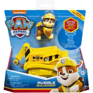 Paw Patrol Transporto priemonė su figūrėle Rubble