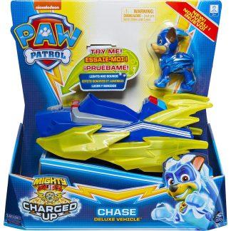 Paw Patrol Transporto priemonė Charged Up su figūrėle Chase
