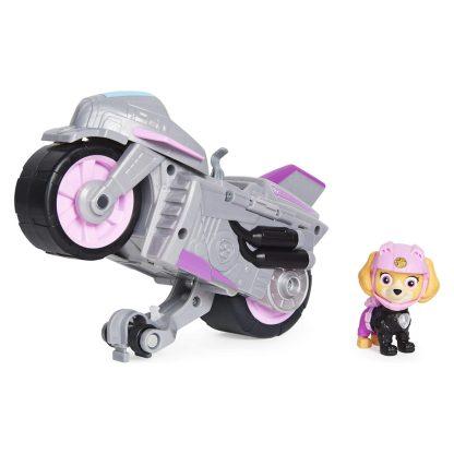 Motociklas su figūrėle Skye