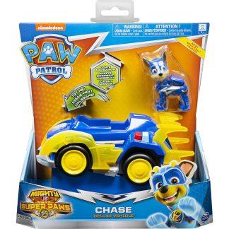 Paw Patrol Transporto priemonė Super Paws su figūrėle Chase