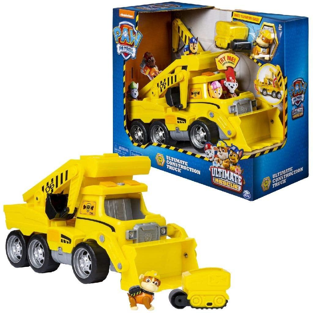 Paw Patrol Ultimate Rescue sunkvežimis su šviesomis ir garsais
