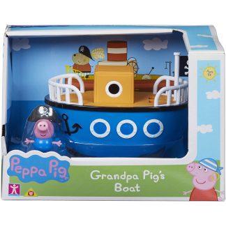 Peppa Pig Senelio laivas su George figūrėle