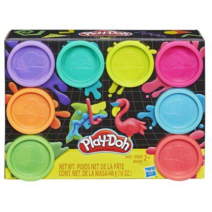 Play Doh Plastilino rinkinys 8 vnt