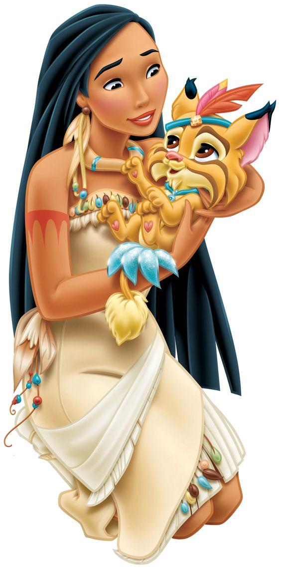 Pokahonta Disnėjaus princesė