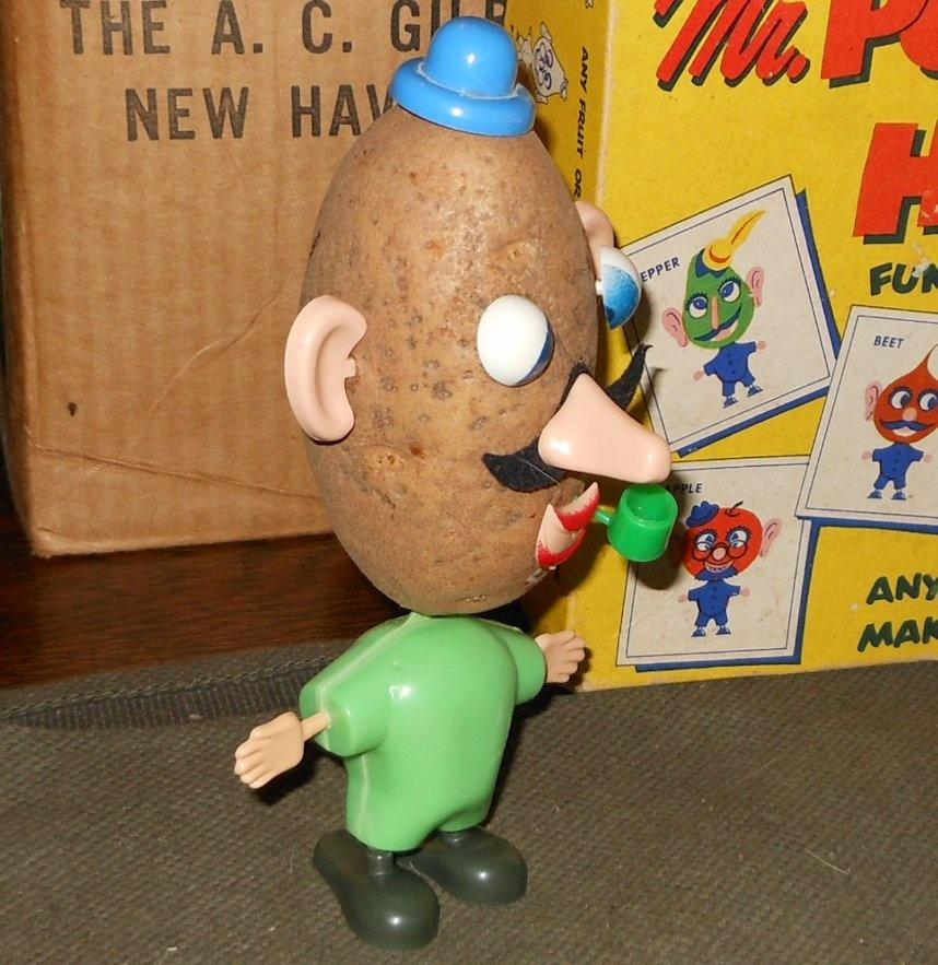 Ponas Bulviagalvis. Potato Head