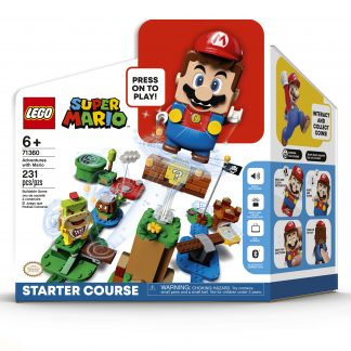 Super Mario Lego žaidimas su figūrėle Mario