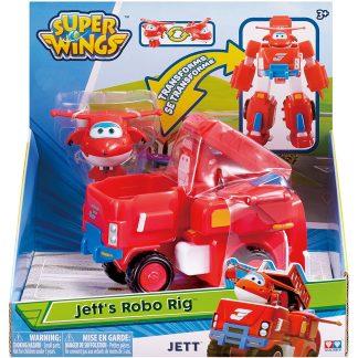 Super Wings Transformuojama Jett transporto priemonė rinkinys