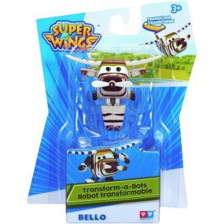 Super Wings Transformuojamas lėktuvėlis Bello 5 cm