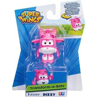 Super Wings Transformuojamas lėktuvėlis Dizzy 5 cm
