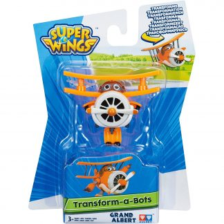 Super Wings Transformuojamas lėktuvėlis Grand Albert 5 cm