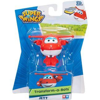 Super Wings Transformuojamas lėktuvėlis Jett 5cm
