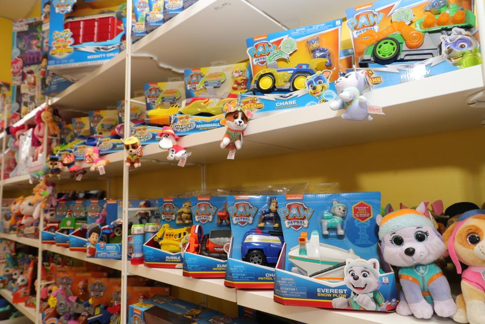 Žaislų parduotuvė