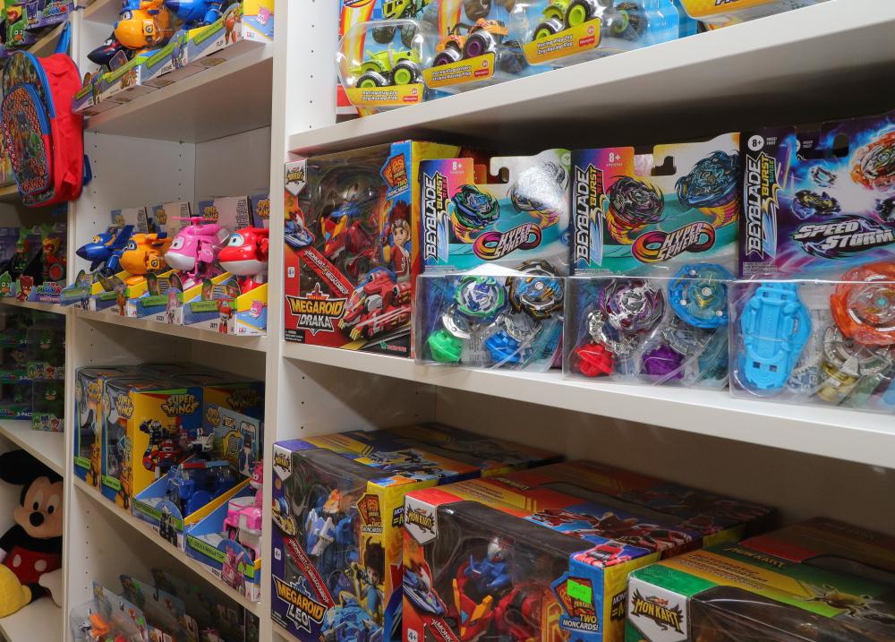 Žaisliukai pagal filmukus