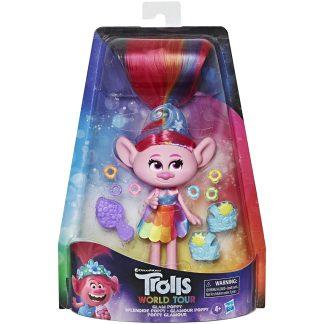 Trolls Lėlytė Glam Poppy su aksesuarais